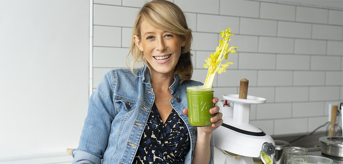 Tata Harper X Tomgirl: All About Celery Juice!