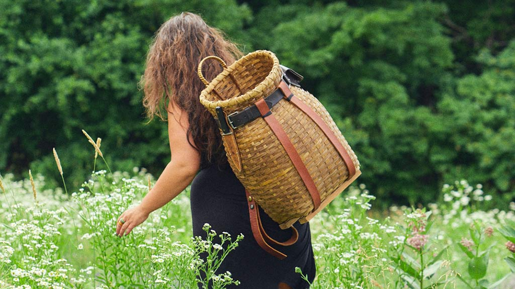 Summer Friday on the Farm with WOVN Basket