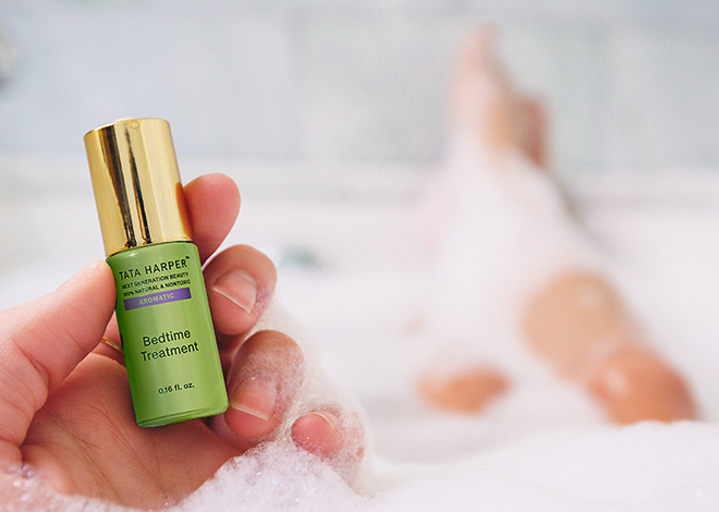 tata's nightly de-stress and anti-aging routine