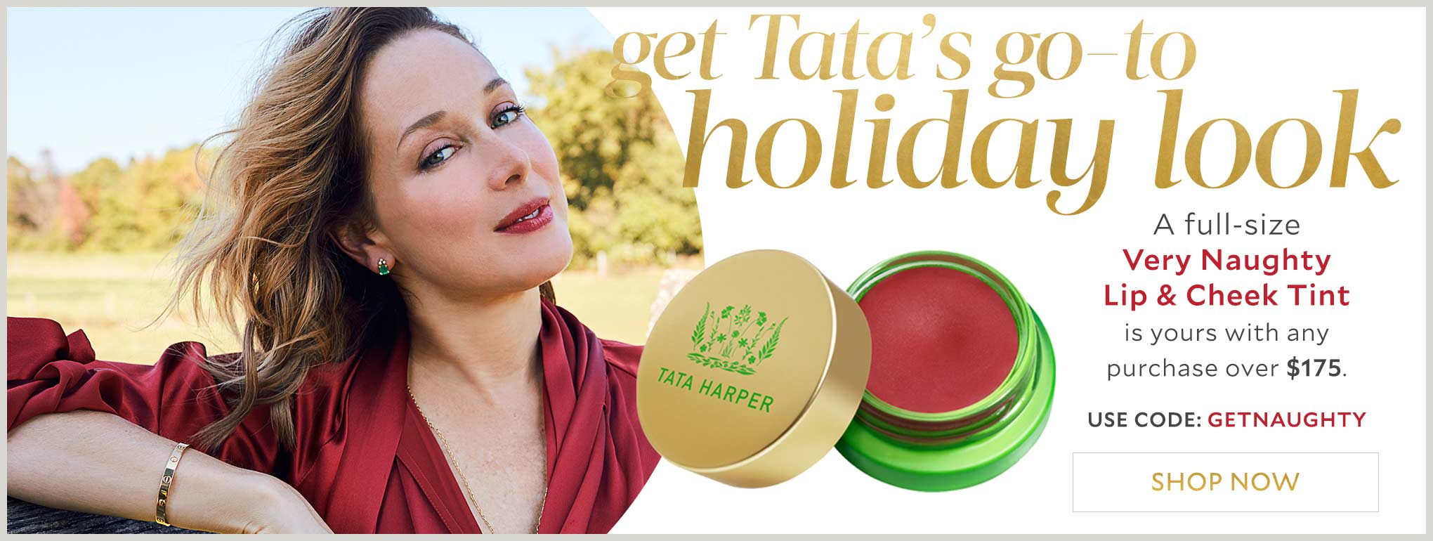 Tata Harper Holiday Gift Very Naughty Lip Tint
