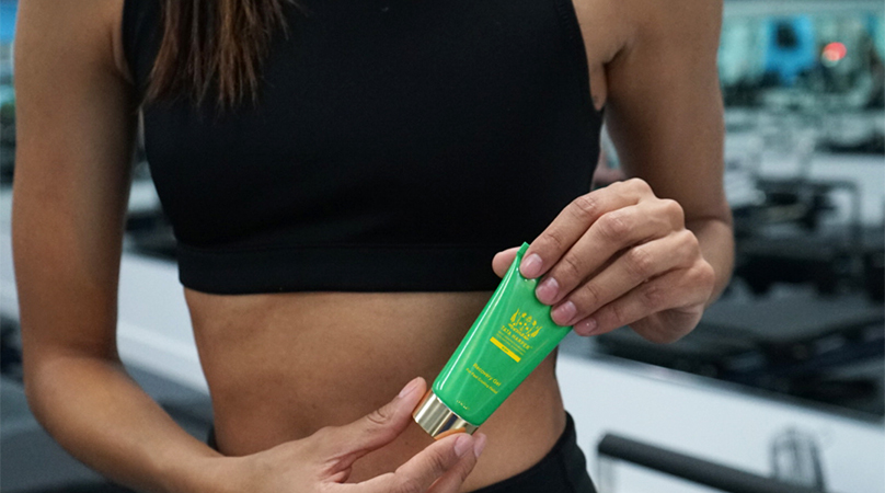 Heating Muscle Recovery Gel
